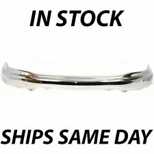 New Chrome - Steel Front Bumper Cover Face Bar For 1999-2004 Ford F150 Truck