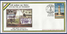 INDIA 2013 MNH SPECIAL COVER GOLDEN JUBILEE 14TH REGIMENT ARMY POSTAL SERVICE