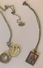Disney Couture and No More Alice In Wonderland Necklace Lot