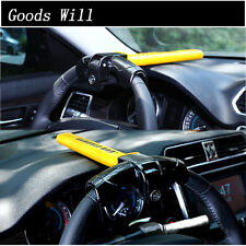 Universal Auto Car Anti-Theft  Security Rotary Steering Wheel Lock US STOCK
