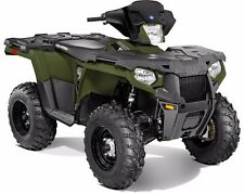 "POLARIS SPORTSMAN SP XP 570 850 1000 LOCK & RIDE LOW 9.5"" WINDSHIELD BLACK"