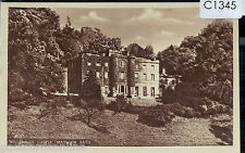 C1345cgt UK Matlock Bath Willersley Castle vintage postcard