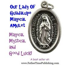 """Virgin Mary """"Our Lady of Guadalupe"""" Good Luck Amulet For Protection Love Money!"""