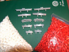 10 Battleship Game Ships Replacement Pieces Parts 84 Red 168 white  LONG  Pegs