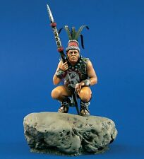 Verlinden 120mm (1/16) Mayan Warrior crouched with Spear in Hand [Resin kit] 860