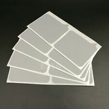 50 Scratch Off Stickers Label 72x77mm Silver Dialog Box Shape For Games Wedding