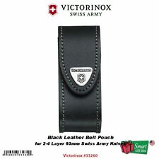 "Victorinox 2-4 Layer Leather Belt Pouch for 3.6"" Swiss Army Knives #33260"