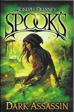 SIGNED SPOOK'S DARK ASSASSIN JOSEPH DELANEY NEW FIRST ED FIRST PRINT HARDBACK