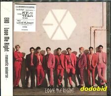 EXO Love Me Right romantic universe 2015 CD New Sealed (Japanese Lan.)