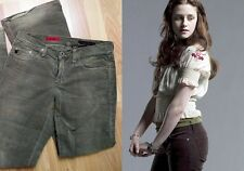Adriano Goldschmied Angel Cords ASO Bella Swan Twilight size 27 in brown used