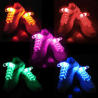 Cool Light Up LED Shoelaces Waterproof Shoestring-3 Modes (On,Strobe & Flashing)
