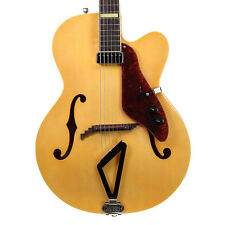 Gretsch G100CE Synchromatic Natural Arch Top Jazz Guitar G100