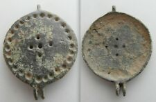 Collectable Medieval Mirror case Lid? / Roman Seal box Lid?  - Artifact
