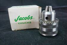 "Jacobs Chuck 1/2"" Capacity USA 1-13MM New in Box, #6295, 34-06 C&K, Mount 6JT"