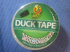 Cheetah Kisses Duck Tape 1.88 IN. X 10 YD  Made in USA