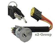 RENAULT MEGANE 96-03 SCENIC 97-99 IGNITION SWITCH BARREL STEERING LOCK WITH KEYS