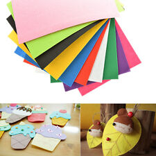10 Colors/lot 30X20cm Non-woven Felt Fabric Kids DIY Craft 2mm Thick WB