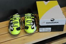 Diadora Men's Tornado Road Cycling Shoes, Yellow US Size 10 - EU Size 44 NEW