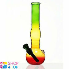SMALL MINI WATER PIPE SMOKING BONG MICRO RASTA TOBACOO MARY JANE 18 CM NEW
