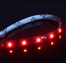 Knight Rider Led Lights (Red/Black Silicone Backing) (BCH1218)