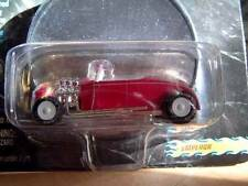 JOHNNY WHITE LIGHTNING SHOW RODS 1:64 EMPEROR RAT ROD COUPE MERCAHOLIC DISPLAY