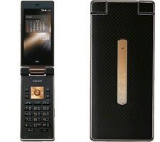 AU KDDI SHARP SHF31 AQUOS K ANDROID 4.4 FLIP PHONE CELL UNLOCKED BLACK NEW 007SH