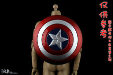 """1/6 Scale Captain America Shield for 12"""" Action figure Toys"""