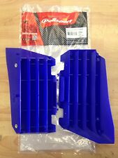 YAMAHA YZF 250 YZF250 2014-2016  POLISPORT RADIATOR LOUVRES RAD GUARDS BLUE