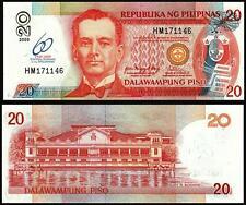 PHILIPPINES 20 PISO 2009 aUNC/ UNC COMMEMORATIVE 60 YEAR CENTRAL BANKING P 198