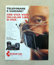 E590 - Advertising Pubblicità -1997- VIVA VOCE CELLULAR LINE