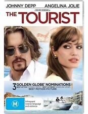 THE TOURIST * NEW SEALED REGION 4 DVD * STARRING JOHNNY DEPP & ANGELINA JOLIE