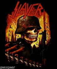 SLAYER cd lgo World Painted Blood INVASION Official 2-Sided SHIRT SMALL New oop