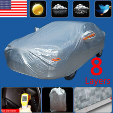 YITA - Waterproof Car Cover PEVA Rain Seam Van Sun/UV Scratch-Resistant 2XXL