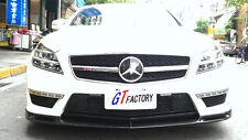 NEW FOR MERCEDES BENZ W218 CLS63 ONLY CARBON FRONT LIP SPOILER V STYLE