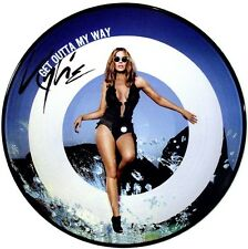 "KYLIE MINOGUE Get Outta My Way Part 1 4 Mixes 12"" VINYL Picture Disc EU Import"