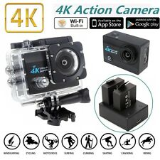 4K 2.0 inch SJ9000 WIFI Waterproof Sport Action Camera Cam 16MP+Charger+Battery