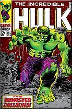 Imán De Nevera Portada De Cómic El Increíble Hulk Hierro CV