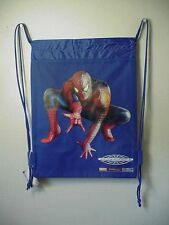 SPIDERMAN -3 BOOK BAG / CINCH SACK BLUE #41