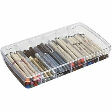 ArtBin 6-Compartment Prism Box- Clear Art/ Craft Supply Storage Container,