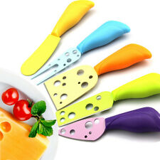 5 Piece Cheese Knife Set Spreader Home Kitchen Multi Color Natural Life Gift NEW
