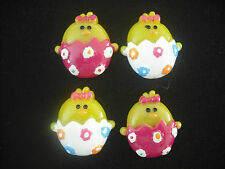 scrapbook card hair cabochons easter eggs chicks flatback resin embellishment wp