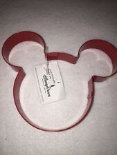 Disney Parks Mickey Mouse Red Cookie Cutter Pancake Maker NEW