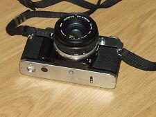 Olympus OM30 35mm SLR Film Camera with 50mm lens Kit