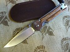 Chris Reeve Knives Small Sebenza 21 S35VN - Bocote Inlay - Authorized Dealer