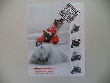 advertising Pubblicità 1999 TUCANO URBANO e VESPA e BABBO NATALE