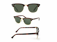 RAY BAN RB3016 W0366 CLUBMASTER TORTOISE FRAME G-15 LENS 51MM BRAND NEW