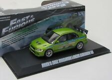 MITSUBISHI Lancer Evo VII (Fast and Furious) Brian/Greenlight 1:43