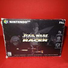 VINTAGE 1999 NINTENDO 64 N64 STAR WARS EPISODE I RACER CARTRIDGE VIDEO GAME PAL