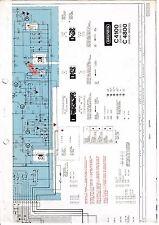 Service Manual-Anleitung für Grundig C 4100, C 4800