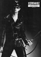 Judas Priest  Rob Halford       Mini Poster  ( MA 30)